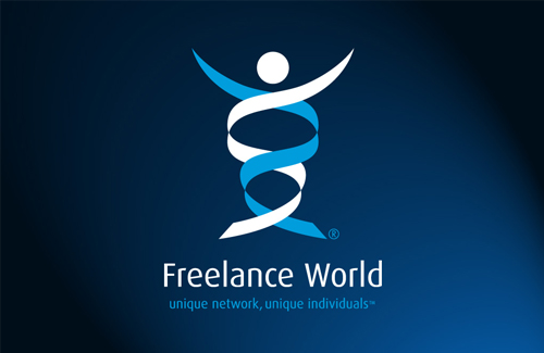 Corporate Logo and Brand Identity Design for Freelance World, UK