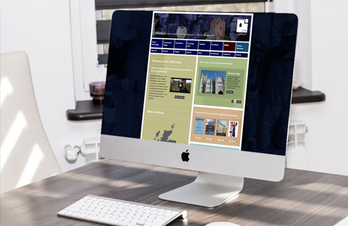 Website Design and Development for the LTM Group