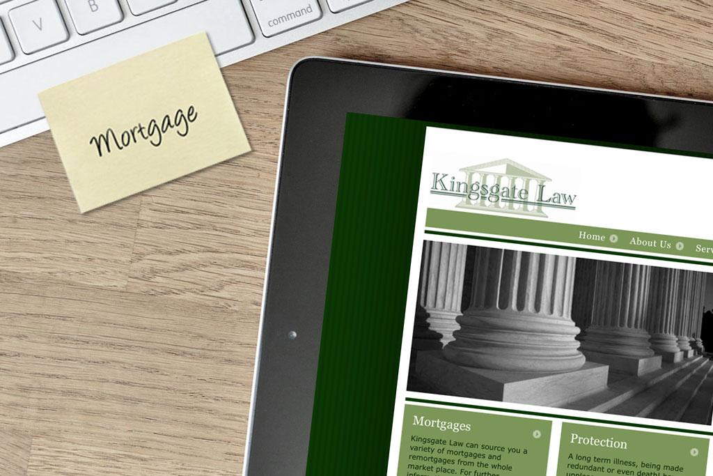 Website Design for Kingsgate Law