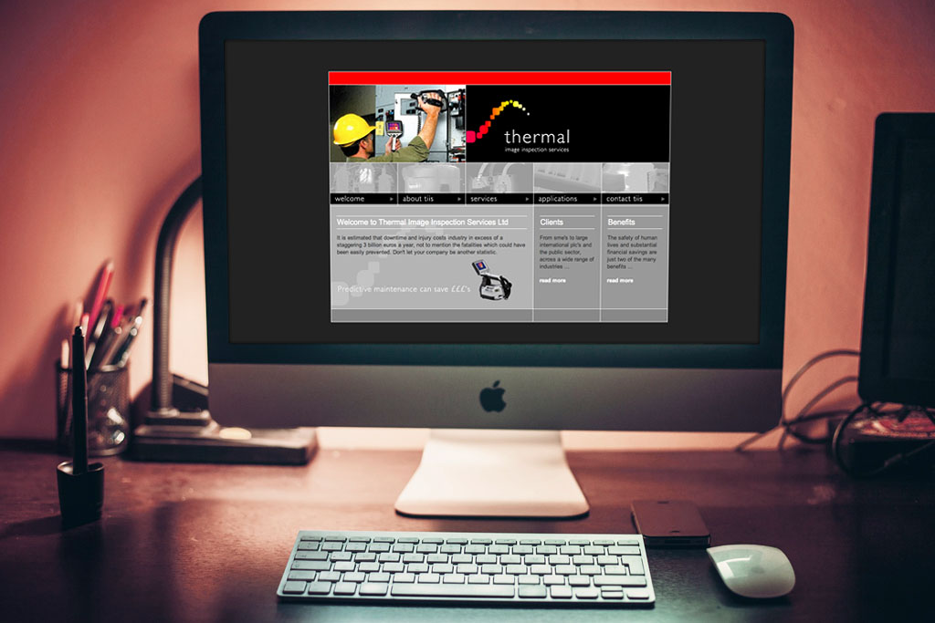 Website Development & Branding for Thermal Image Inspection
