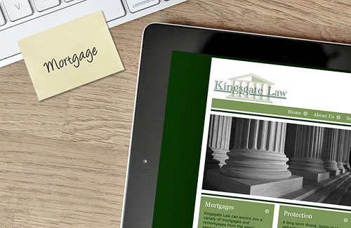 Website Design & Website Development for Kingsgate Law